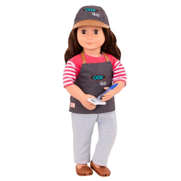 Our Generation Food Truck Grill To Go PLAYSET DOLL TOY GIFT